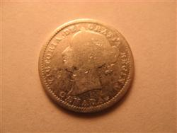 1896 Canadian Dime