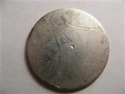 Dateless Seated Liberty Quarter
