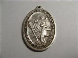 Sterling St. Christopher Medal