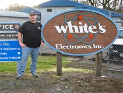 White's Factory Sign